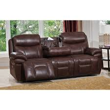 Top Grain Leather Sofa Recliner Sanford Leather Power Sofa Recliner With Power Headrests And Usb