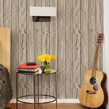 wide wallpaper home decor grey wide wood board stripe wallpaper modern pvc vinyl home decor
