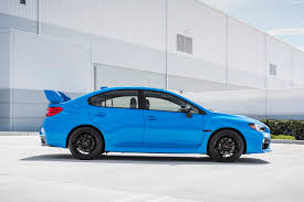 blue subaru wrx report subaru wrx sti going hybrid for 2017