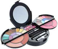amazon com br deluxe makeup palette 64 colors extra pearl