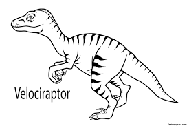 epic velociraptor coloring page 85 for coloring pages for kids