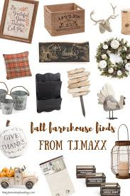 fall farmhouse finds from t j maxx fall home decor autumn home