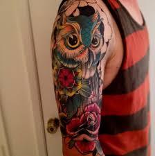 best 25 owl tattoo sleeves ideas on pinterest owl tattoos cute