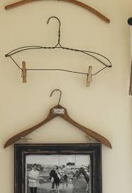 frame hanger vintage clothes hanger frame photo display hometalk