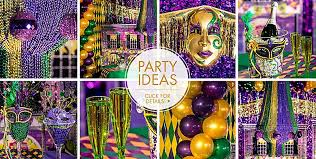 mardi gras by the mardi gras decorations party city