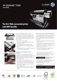 download free pdf for hp designjet t2300 printer manual
