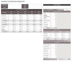 Financial Planning Worksheet 32 Free Excel Spreadsheet Templates Smartsheet