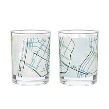 houston map glasses city map glass city glass new york chicago san francisco