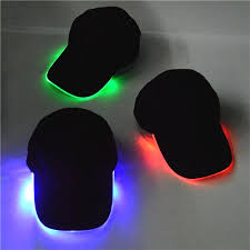 cap with led lights light up hat ornament hats