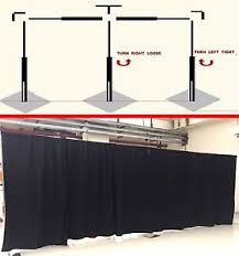 Wedding Backdrop Ebay New Adjustable Pipe Drape Stainless Steel Wedding Party Curtain