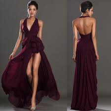 wine red prom dresses long dresses online