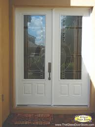 contemporary double door exterior double doors with a partial glass door insert modern glass with a