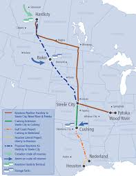 Pipeline Map Of North America by Texas Segment Of Keystone Xl Pipeline Starts Flowing The Texas