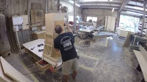 Curved Kitchen Cabinets by Custom Curved Kitchen Hood Cabinet Time Lapse Youtube