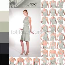 short infinity dress in greys a line free style dress infinity