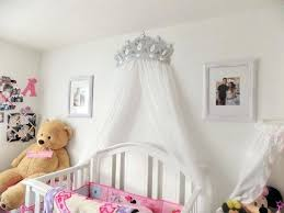 Bed Canopy Crown Wall Bed Canopy Bed Canopy Crown Wall Decor In Silver With White