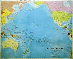 Southern Ocean Map A Detailed Map Of The Pacific Ocean Floor 1969 4556 3448
