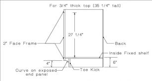 Standard Kitchen Base Cabinet Sizes Standard Kitchen Base Cabinet Depth New Home Interior Design