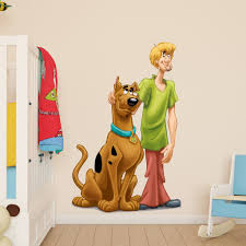 scooby doo and shaggy kids boys girls bedroom wall decal art