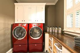designs ideas small laundry room with white cabinet and wall