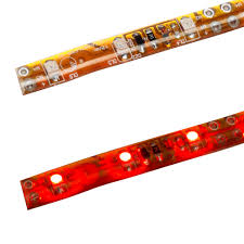 self adhesive strip lights led strip light self adhesive 600mm 12v red