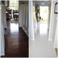 how to paint prefinished hardwood floors how they turned out