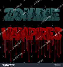 zombie halloween background zombie vampire party invitation background vampires stock vector