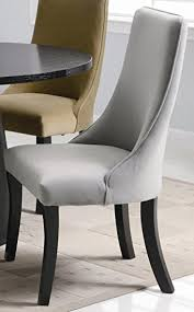 Dining Chairs Inspiring Curved Leather Dining Chair Ivory Leather