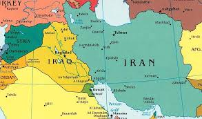 map or iran iran map