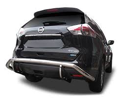 nissan rogue rear bumper protector nissan rogue rear bumper guard 2014 to 2016 idfr com