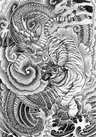 scifi and tiger design tattoomagz