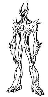 ben 10 alien coloring free download