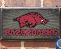 gifts for razorback fans arkansas razorbacks etsy