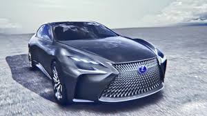 lexus lf lc blue lexus lf fc luxury sedan concept youtube