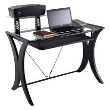 Glass Topped Computer Desk by 100 Techni Mobili Glass And Metal Computer Desk Awesome