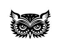 owl bird tattoo stock vector image of character nature 32429558