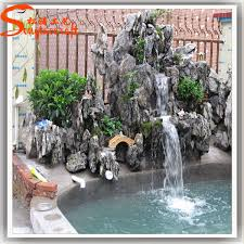 outdoor stone water fountains awesome design ideas 5 stacked shale