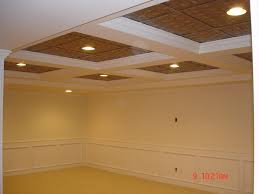 detroit drop ceiling ideas basement traditional with nickel