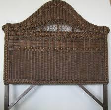 fresh antique wicker headboard 13900