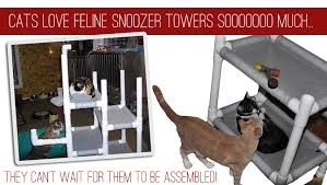 Free Diy Cat Furniture Plans by Cat Furniture By Feline Snoozers Cat Trees Cat Towers Cat Beds
