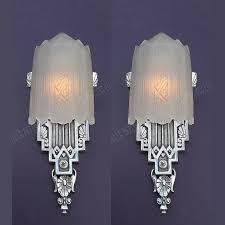 Antique Art Deco Wall Sconces 309 Best Art Deco Images On Pinterest Art Deco Design The Shade