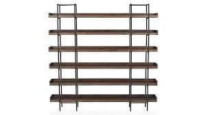 Replacement Shelves For Bookcase Beckett 6 High Shelf Crate And Barrel