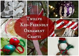 and me activities 12 diy ornaments