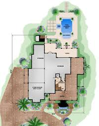 beach style house plan 4 beds 4 50 baths 13717 sq ft plan 27 480