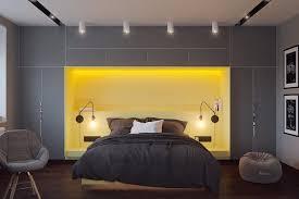bedroom design grey bedroom with yellow tones for master design Sle Bedroom Designs