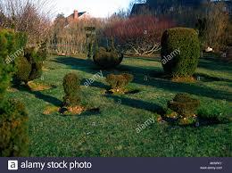 Ny Topiary - topiary bridge gardens trust bridgehampton long island ny stock