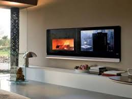 Style Furniture With Modern Fireplace TV Home Interior Design - Home style furniture