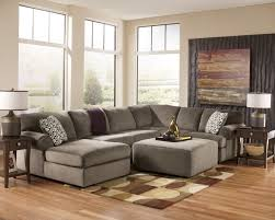 plush sectional sofas jessa place dune left arm facing sectional from ashley 39802