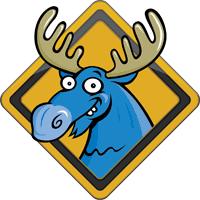 blue moose wedding band moose truck by kc hopps