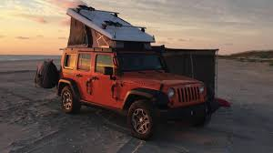 camping jeep wrangler jeep camper ursa minor j30 video tour youtube